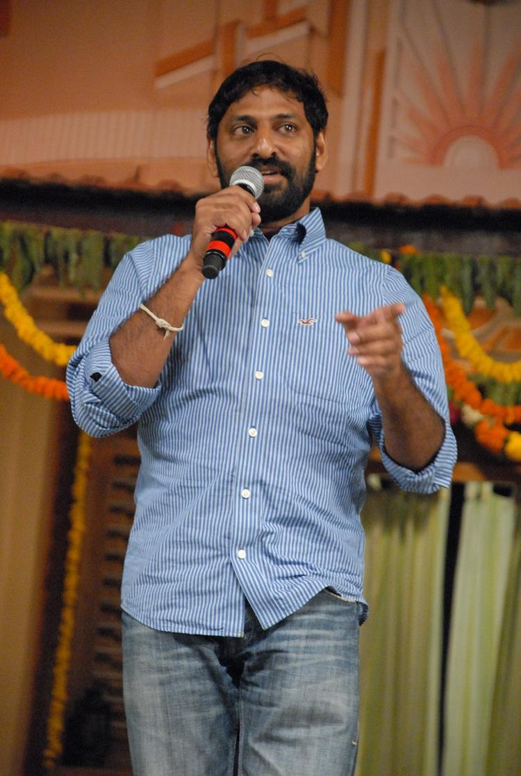 A Guest Speaks Out At SVSC Audio Release Function