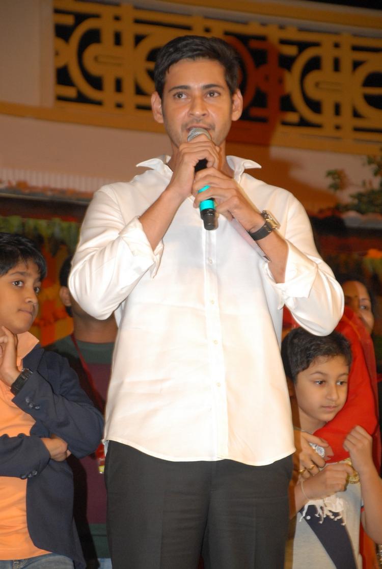 Mahesh Babu Handsome Look Still At SVSC Audio Release Function