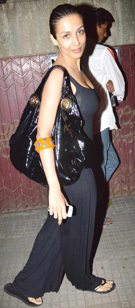 Malaika Arora Khan Spotted At Dabangg 2 Special Screening