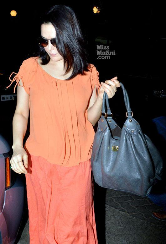 Preity Zinta Spotted At Dabangg 2 Screening Event