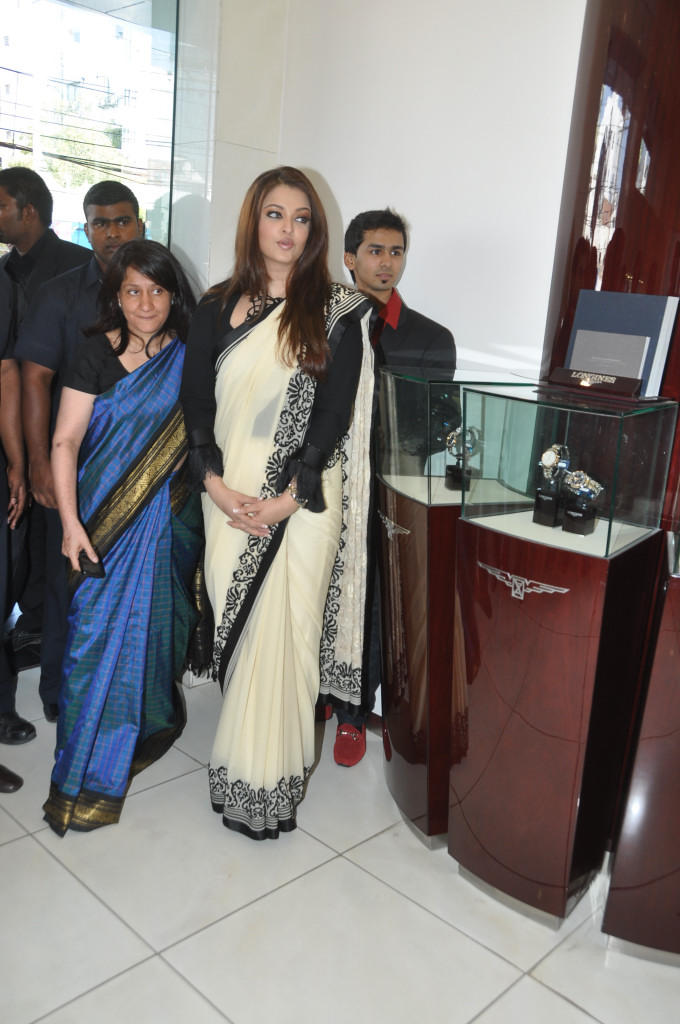 Aishwarya At Longines Watch Show Room Launch