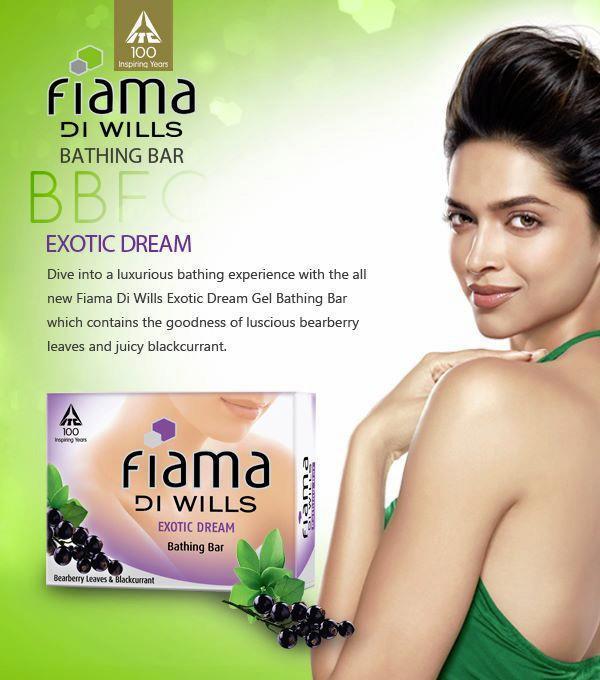 Sexy Deepika Bare Back Show Stunning Look Photo Shoot For Fiama Di Wills