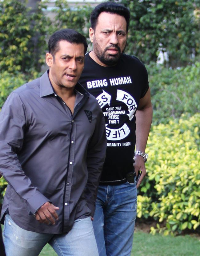 Walking Still Salman At Dabangg 2 Promotion In Delhi