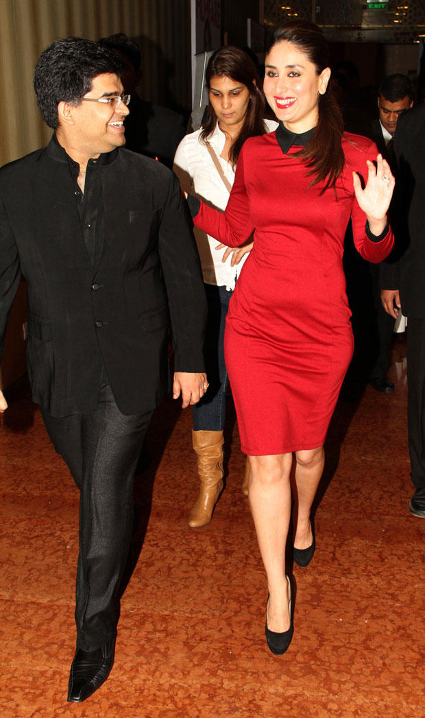 Kareena Arrived At The 58th Idea Filmfare Awards Press Meet