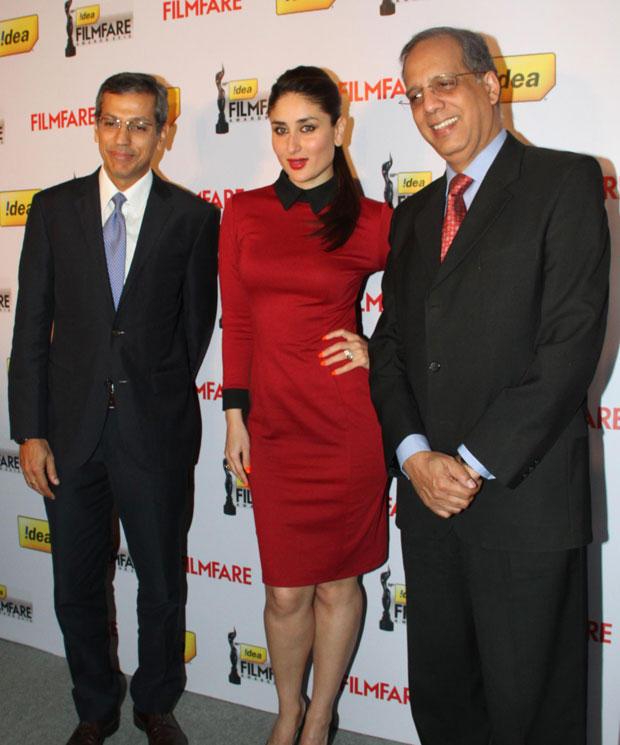 Kareena With Guests Snapped At The 58th Idea Filmfare Awards Press Meet
