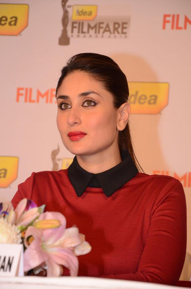 Kareena Lookede Gorgeous At The 58th Idea Filmfare Awards Press Meet