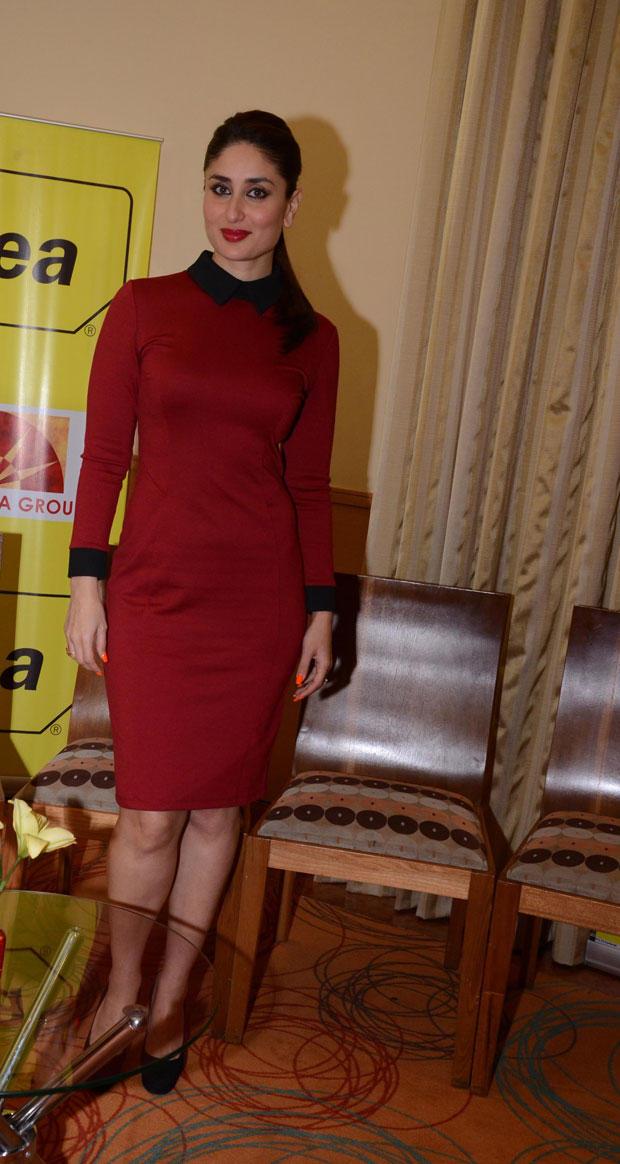 Kareena Spicy Look Photo Clicked At The 58th Idea Filmfare Awards Press Meet