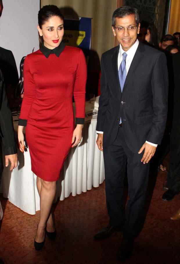 Kareena Spotted At The 58th Idea Filmfare Awards Press Meet