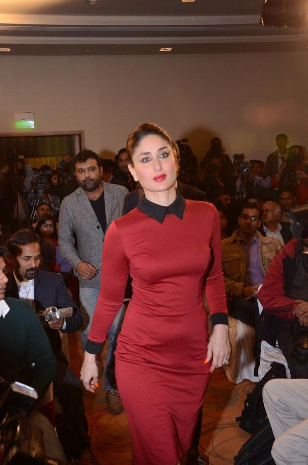 Kareena Walking Photo Clicked At The 58th Idea Filmfare Awards Press Meet