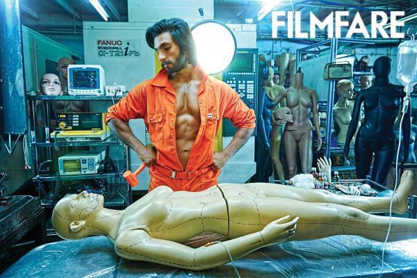 Ranveer Singh Nice Look Phoot Shoot For Filmfare January 2013 Issue