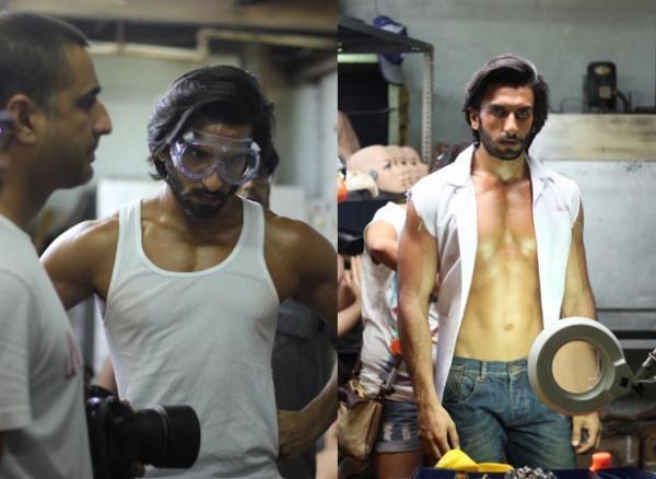 Ranveer Singh Six Pack Look Photo Shoot For Filmfare January 2013 Issue