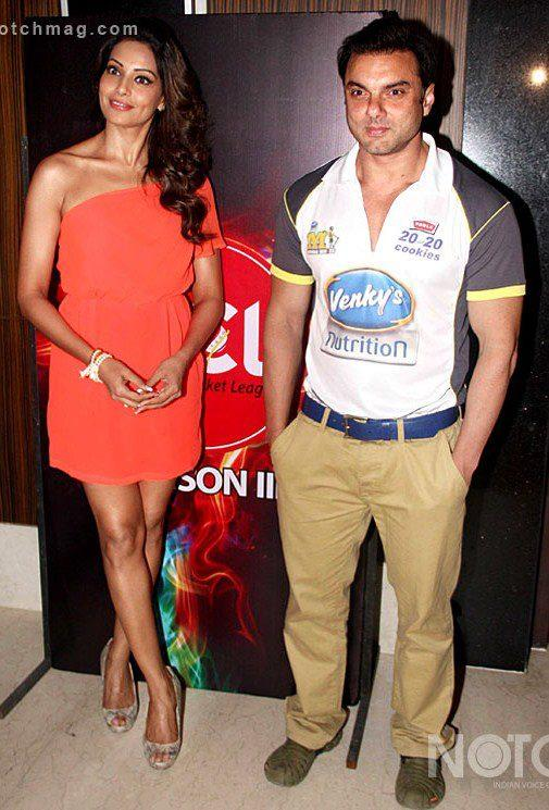 Bipasha Basu And Sohail Khan Attend The CCL Press Conference