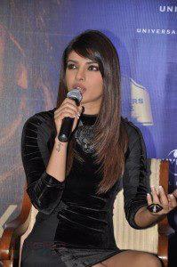 Priyanka Speaks Still During The Promotion Of In My City Album At Blenders Pride Event