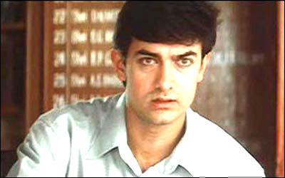 Aamir Khan Photo As ACP in Movie Sarfarosh