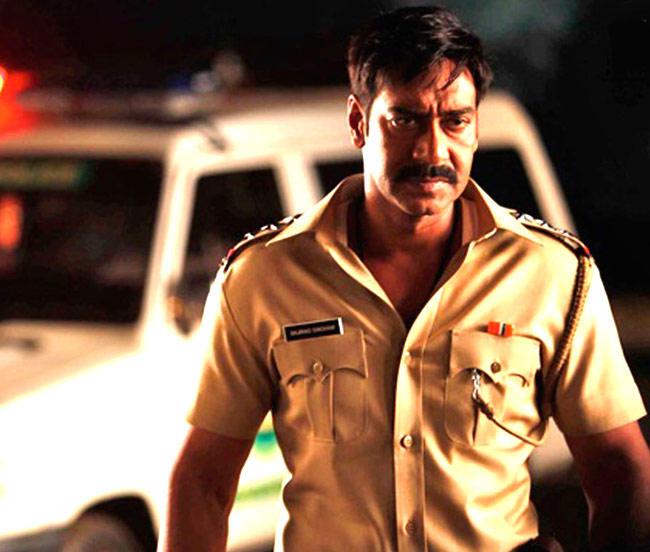 Ajay Devgan Angry Look Action In Movie Singham
