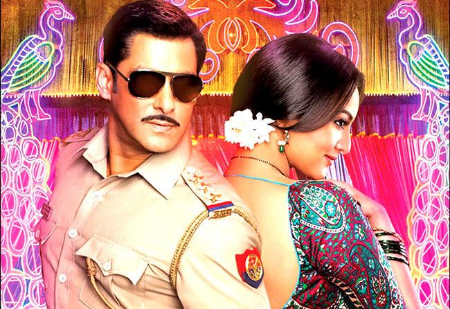 Salman And Sonakshi Dashing Look Photo From Movie Dabangg