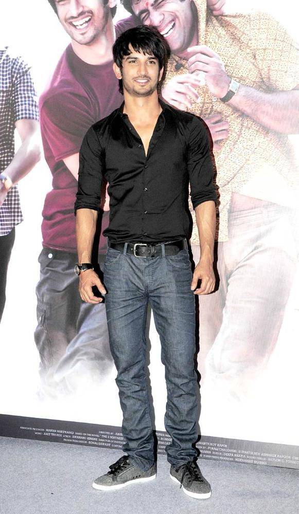 Handsome Sushant Singh Rajput Clicked At Kai Po Che Movie Trailor Launch