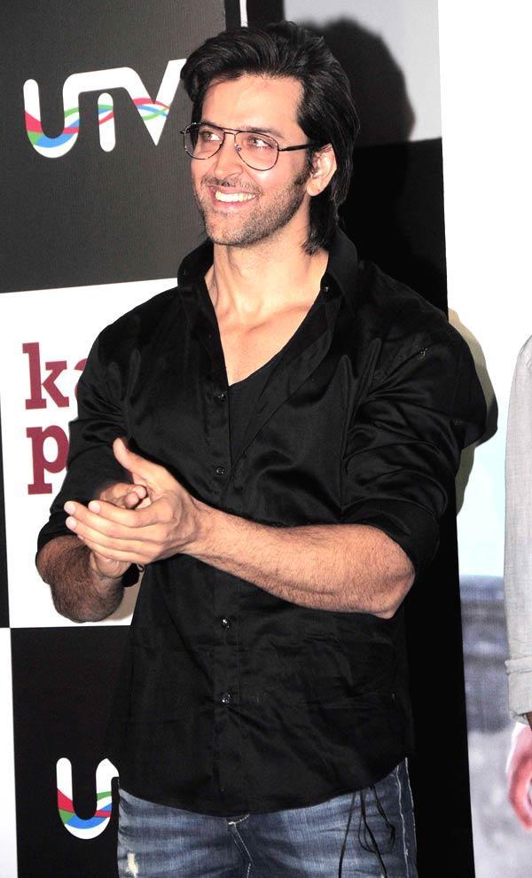 Hrithik Roshan Unveils At The Kai Po Che Movie Trailor Launch