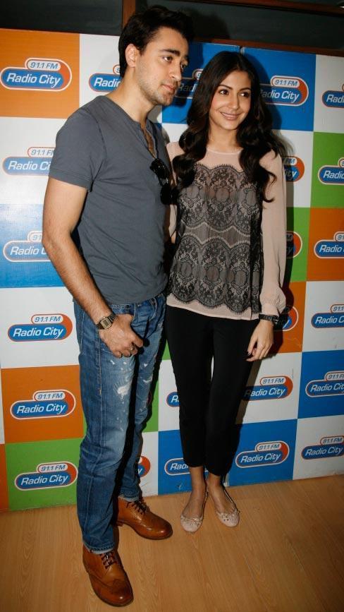 Imran And Anushka Present At Radio City 91.1 FM For Promotion Of MKBKM