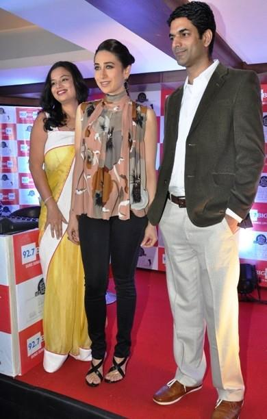 Karisma Kapoor Clicked At 92.7 Big FM Studio