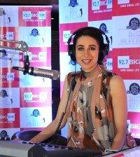 Karisma Kapoor Cute Smiling Still At 92.7 Big FM Studio