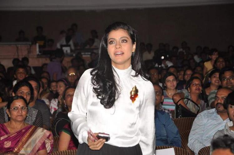 Kajol Devgn Spotted At Star Nite 2012 Event