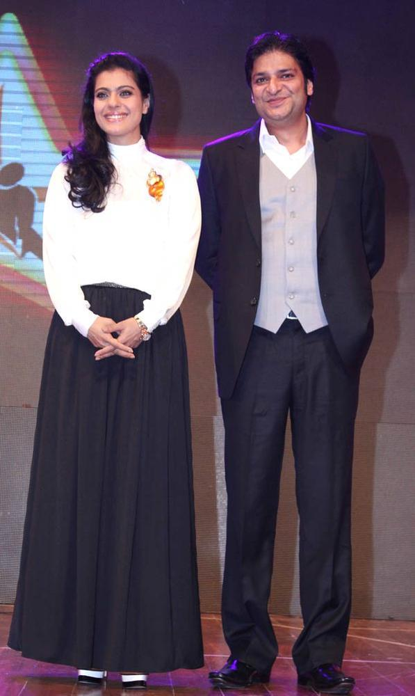 Kajol With A Friend Attend The Star Nite 2012 By Star Dance Academy
