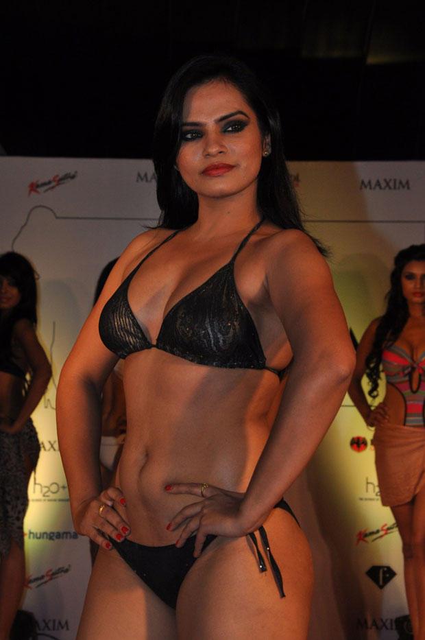 A Model In Bikini At Kamasutra Miss Maxim 2012 Grand Finale
