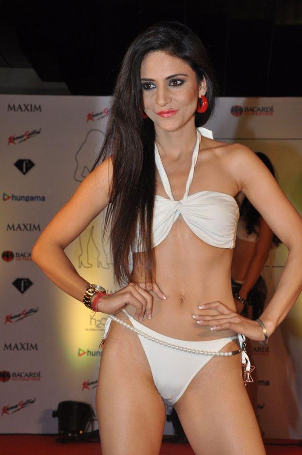 A Model In Bikini Sexy Look At Kamasutra Miss Maxim 2012 Grand Finale