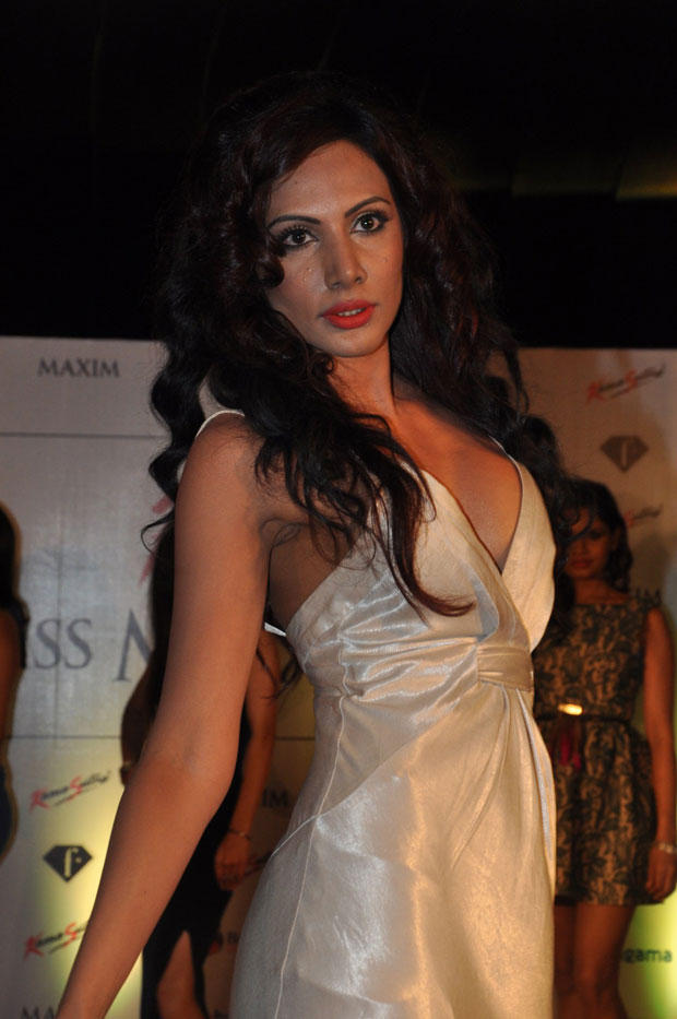 A Model On Ramp At Kamasutra Miss Maxim 2012 Grand Finale