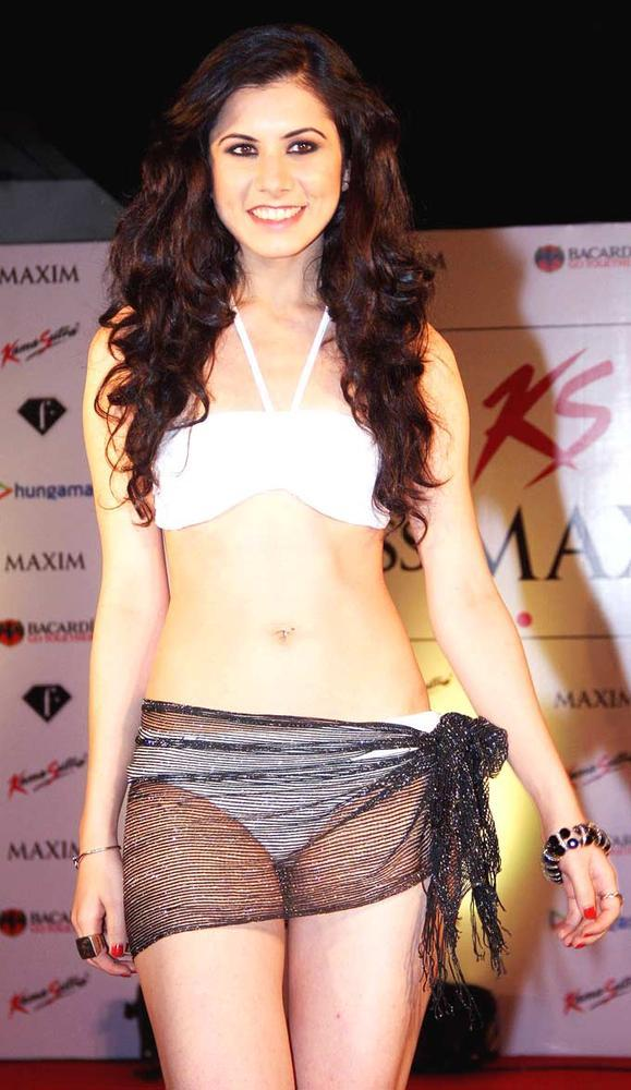 A Model On Ramp Show At Kamasutra Miss Maxim 2012 Grand Finale