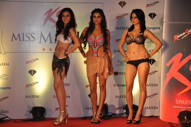 Models Are At Kamasutra Miss Maxim 2012 Grand Finale