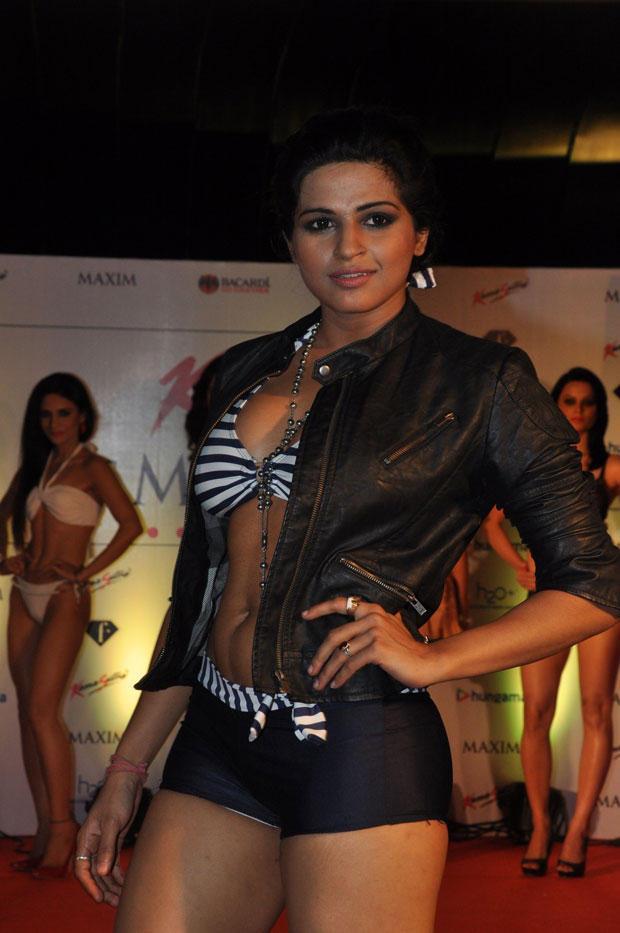 A Sexy Model At Kamasutra Miss Maxim 2012 Grand Finale