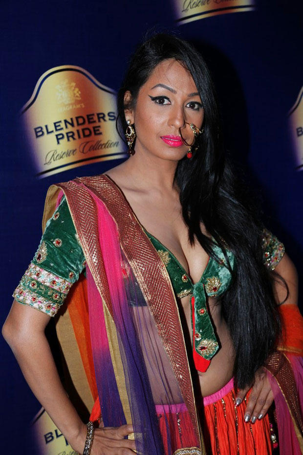 Kashmira Sexy Expression Photo At Blenders Pride Hyderabad International Fashion Week
