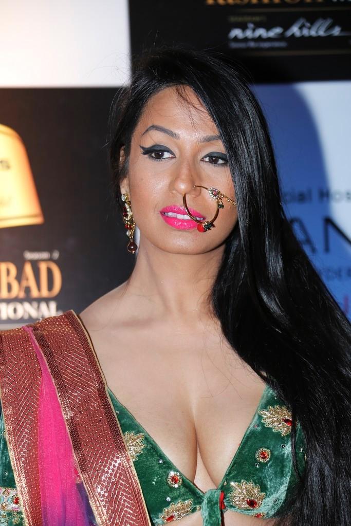 Kashmira Snapped At Blenders Pride Hyderabad International Fashion Week