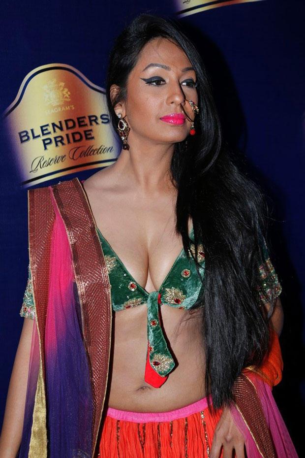 Kashmira Spotted At Blenders Pride Hyderabad International Fashion Week