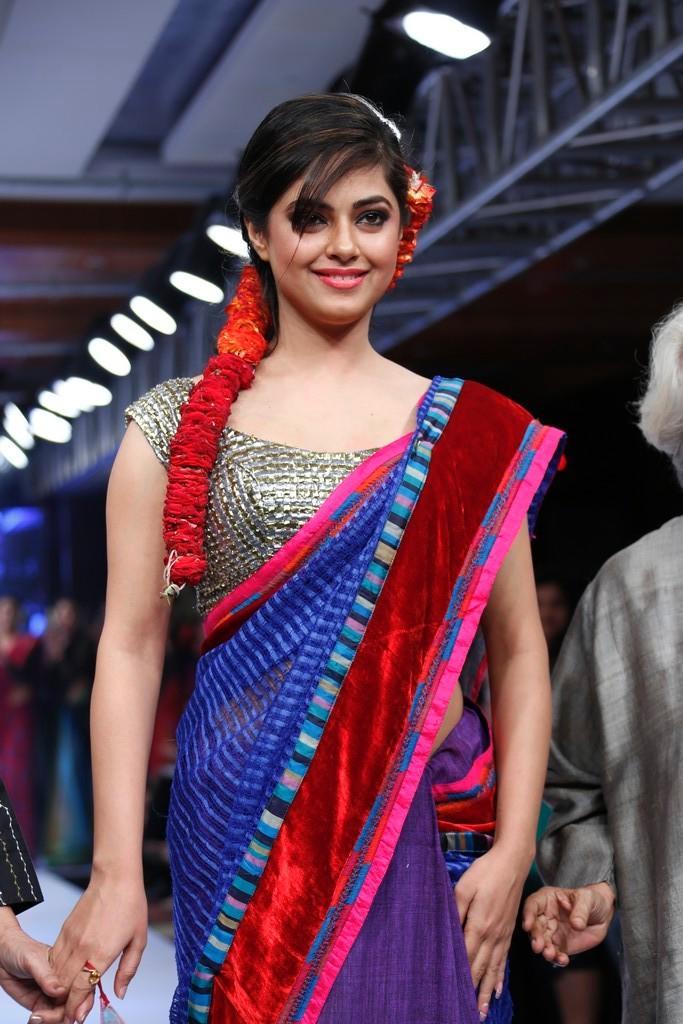 Meera Photo Clicked On Ramp At Blenders Pride Hyderabad International Fashion Week