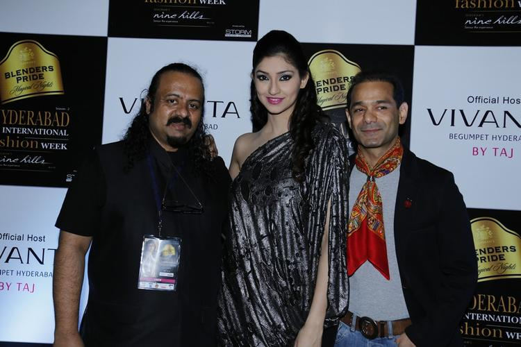 A Model With Guests Snapped At Blenders Pride Hyderabad International Fashion Week