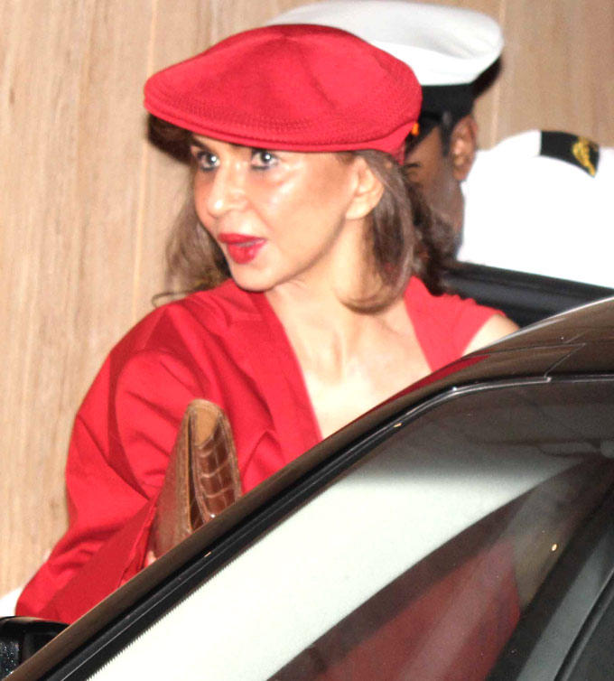 Parmeshwar In Red Spotted At Sunny And Anu Dewans Christmas Bash