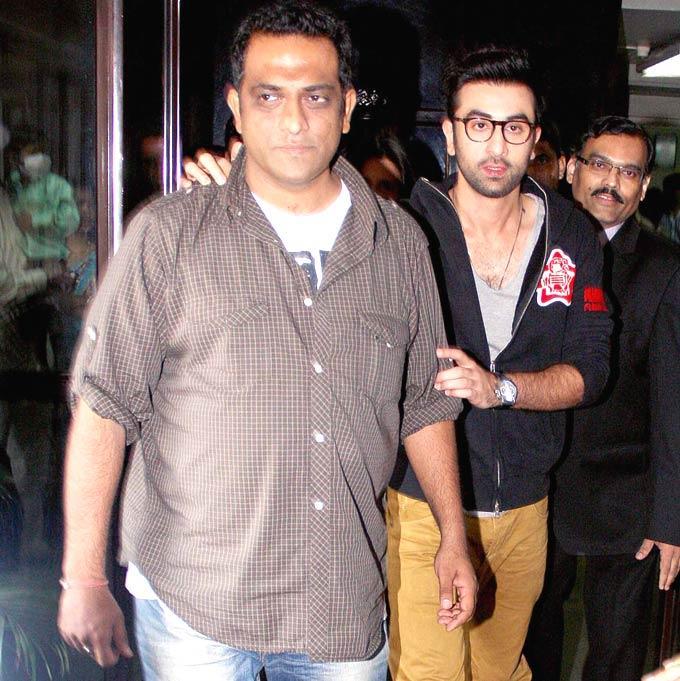 Ranbir Kapoor And Anurag Basu Spotted At Tata Memorial Hospital
