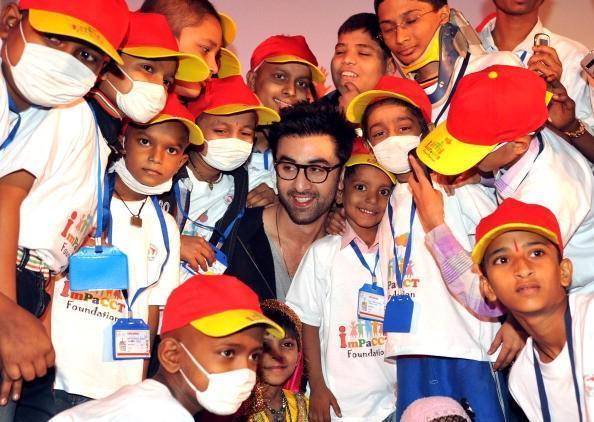 Ranbir Kapoor Celebrated Christmas With Kids At Tata Memorial Hospital