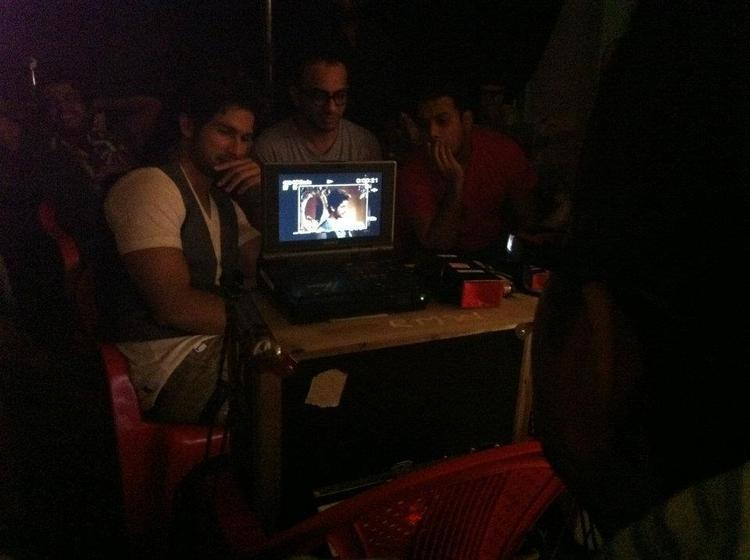 Shahid Kapoor Spotted On The Sets Of New Bru Coffee Ad