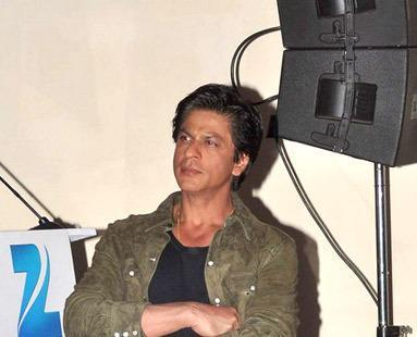 Shahrukh Khan Attend The Press Conference Of Zee Cine Awards