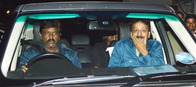 Baba Siddiqui Snapped On Way At Salman Khan Birthday Bash