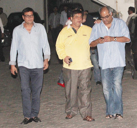 Boney And David Were Spotted Entering Salman Khan Apartment For His Low-Key Birthday Party
