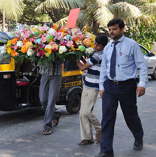 A Bouquet For Salman Khan On His 47th Birthday