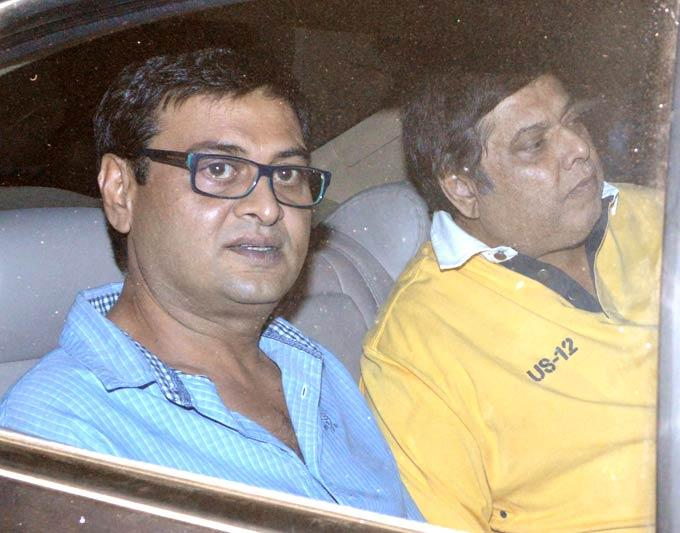 David Dhawan Spotted At Salman Khan Birthday Bash