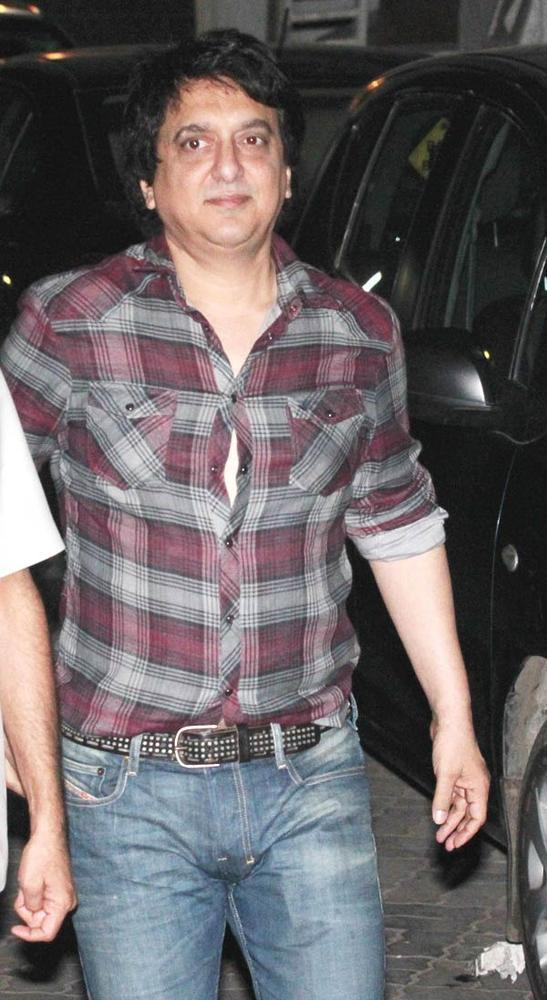 Sajid Nadiadwala Walks On At Salman Khan Birthday Bash