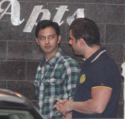 Vatsal Seth And Sohail Khan During Salman Khan Birthday Party