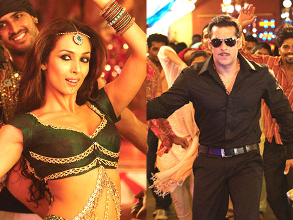 Salman Khan And Malaika Arora Khan In Dabangg Movie